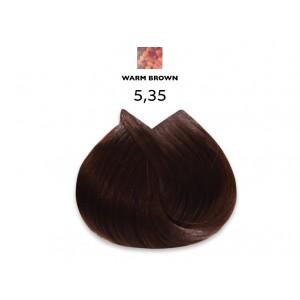 צבע לוריאל 5-35 חום זהוב מהגוני