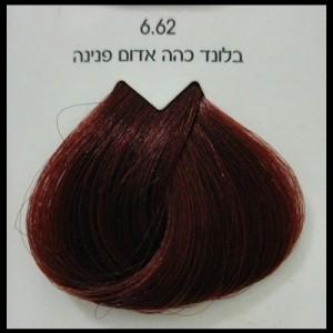 צבע לוריאל 6-62 בלונד כהה אדום פנינה LOREAL