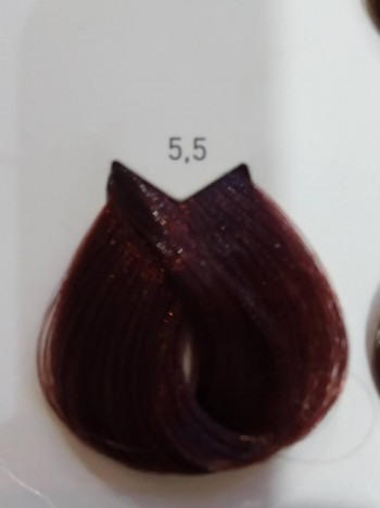 צבע לוריאל 5-5 חום בהיר מהגוני LOREAL