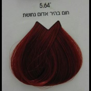 צבע לוריאל 5-64 חום בהיר אדום נחושת LOREAL