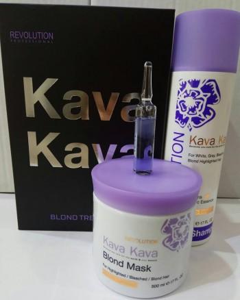 קווה קווה מארז במבצע BLOND TREATMENT KAVA KAVA